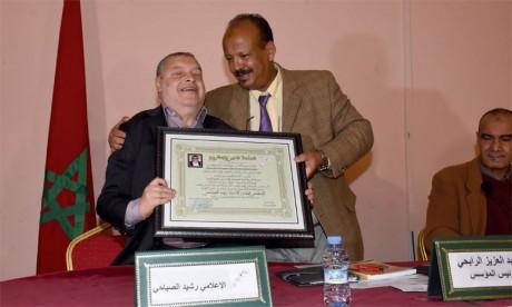Un hommage a été rendu à Rachid Sebbahi.                                                                                                                                                        Ph. Kartouch