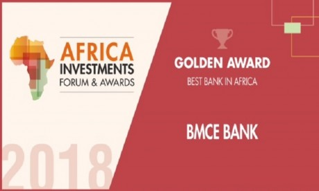 BMCE Bank consacrée «Banque africaine de l'année 2018»