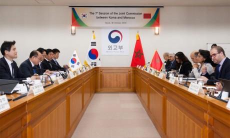 Mounia Boucetta s'entretient à Séoul avec plusieurs responsables  et représentants des secteurs public et privé