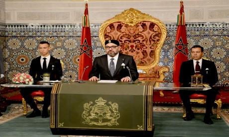 S.M. le Roi déclare la disposition du Maroc au dialogue direct et franc avec l'Algérie et propose la création d'un mécanisme politique conjoint de dialogue et de concertation