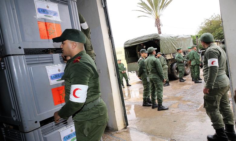 Anfgou et Ouaouiziret accueillent les convois médicaux des FAR