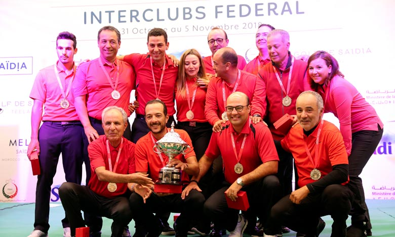 Interclubs fédéral : Le Royal Golf Dar Es-Salam s'adjuge la 3e édition