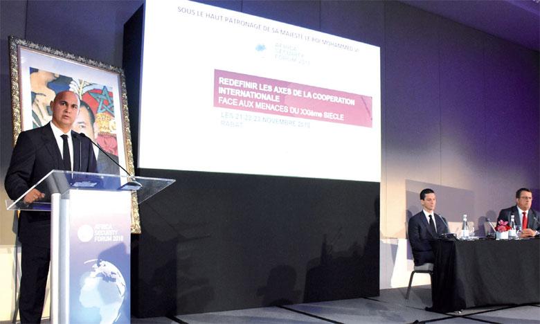 Driss Benomar, président d'Atlantis, a présenté lundi les grands axes de la troisième édition de l'Africa Security Forum.