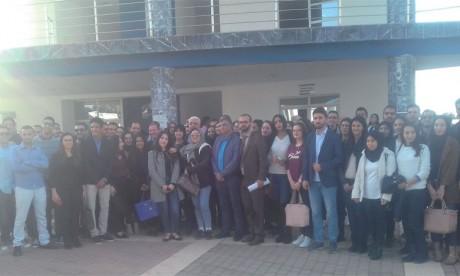 L'ambassadeur britannique au Maroc à la rencontre  des étudiants de l'ENCG