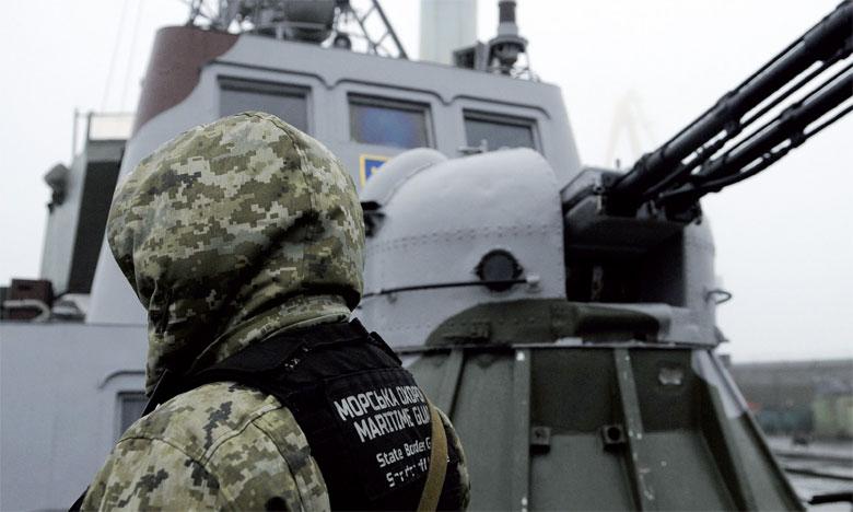 Il s'agit de la première confrontation militaire entre Moscou et Kiev depuis le conflit armé dans l'est de l'Ukraine entre forces ukrainiennes et séparatistes pro-russes qui a fait plus de 10.000 morts.                                                                                                            Ph. DR