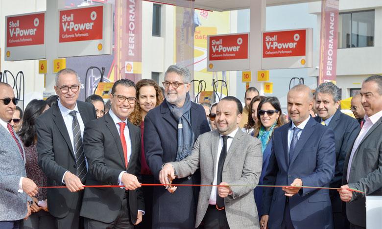 «Parc Bouskoura», une station-service de 82.000m² signée Vivo Energy