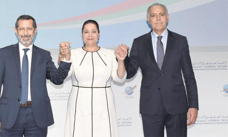 Le 15 mai, une semaine avant son élection à la tête de la CGEM, Salaheddine Mezouar a réussi une véritable démonstration de force à Casablanca face aux centaines d'invités venus juger son programme électoral. Ph. Saouri