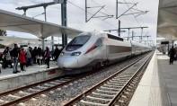 Le train Al Boraq à destination de Tanger s'est arrêté d'urgence entre Sidi Lyamani et Aqouass Briech après avoir heurté et tué un homme qui s'est jeté devant le train. Ph : DR