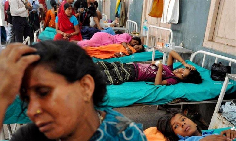 Les victimes sont décédées d'une intoxication alimentaire présumée après avoir consommé du riz à la tomate offert dans un temple hindou du village de Sulvadi à Chamarajanagar. Ph : Archives