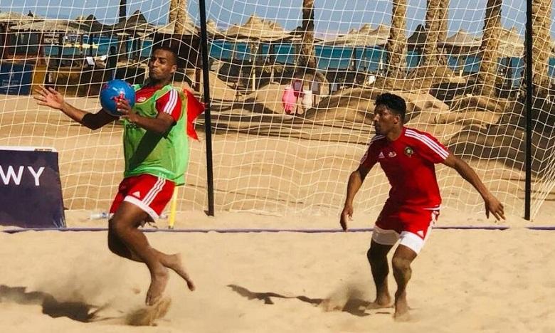 Beach soccer : Les Lions entament la compétition par un choc face à l'Egypte