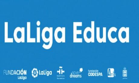 300 jeunes bénéficiaires du programme «LaLiga Educa» à Tétouan