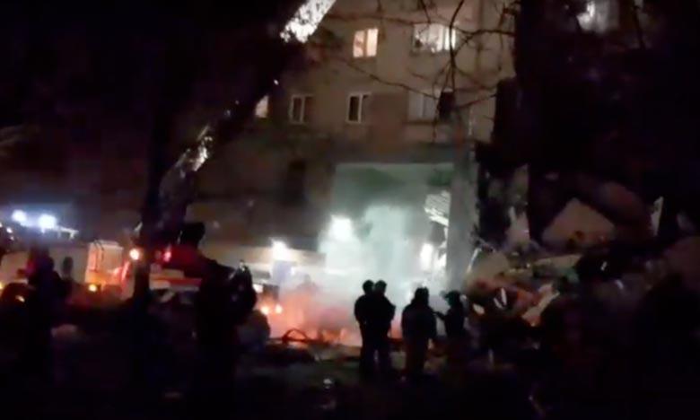 Explosion mortelle due au gaz en Russie