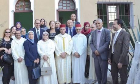 L'unité de proximité «Hna Mâak» présente  le bilan de son action sociale