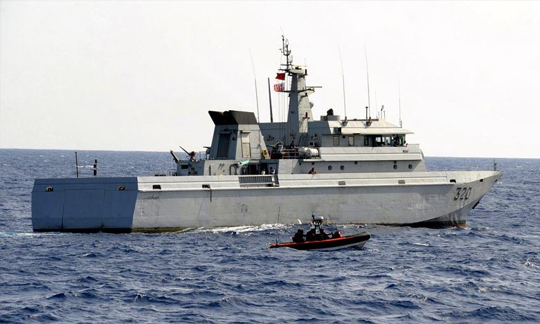 La Marine Royale sauve 202 candidats en Méditerranée