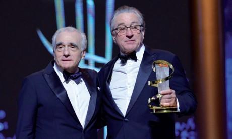 De Niro et Scorsese, deux géants  sur la scène du FIFM