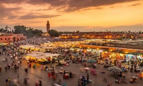Lla ville ocre s'est adjugé une place dans le Top 10 des villes ayant enregistré le meilleur score en arrivées internationales au titre de l'année 2017 dans la région Afrique-Moyen Orient. Ph. Shutterstock