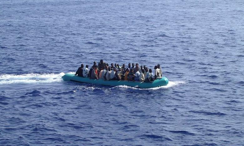 Plus de 300 clandestins secourus en Méditerranée par la Marine royale
