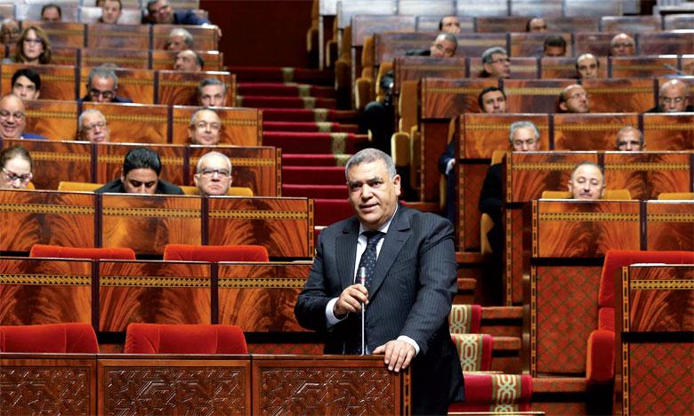 Abdelouafi Laftit a indiqué que les conditions de précarité et de marginalisation ne peuvent jamais servir de prétexte pour justifier des actes terroristes abjects. Ph. MAP