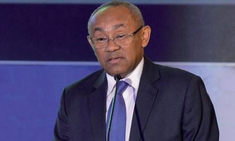 Ahmad Ahmad juge qu'il est prématuré de prédire que le Maroc va organiser la CAN 2019