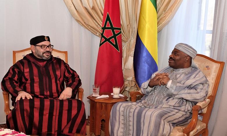 Gabon : première apparition publique d'Ali Bongo à Rabat