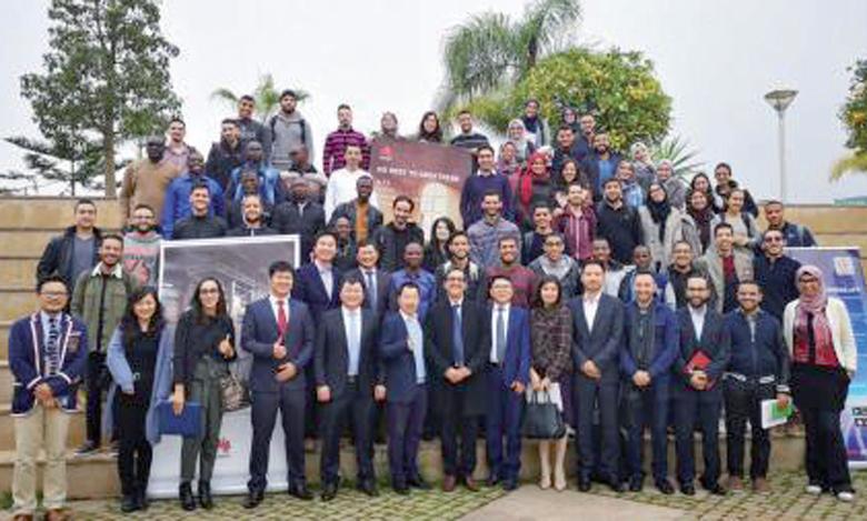 Huawei à la rencontre  des lauréats de l'INPT