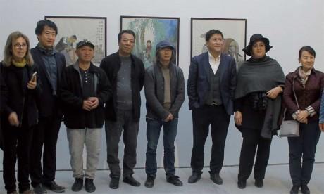 La célébration de la Chine au Maroc a connu la participation d'artistes chinois et de plasticiens marocains.