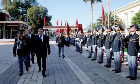 Le département chapeauté par Abdelouafi Laftit a entrepris un mouvement dans les rangs des agents d'autorité qui a concerné 1.574 agents. Ph. MAP