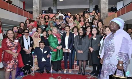 S.A.R. La Princesse Lalla Meryem préside la cérémonie d'inauguration du Bazar international de Bienfaisance
