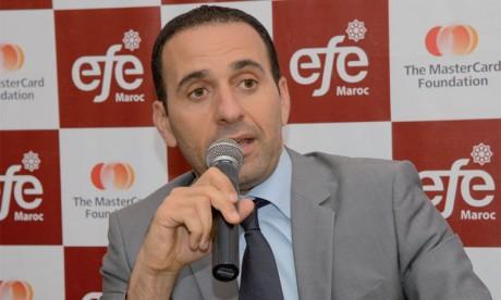 Anas Guennoun, nouveau  président D'EFE-MAROC