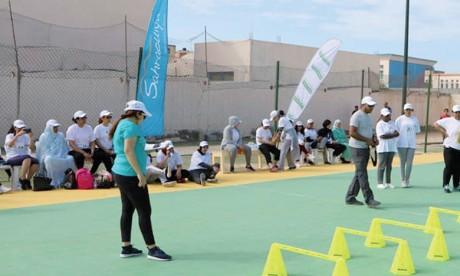 70 femmes participent à l'étape de Lâayoune