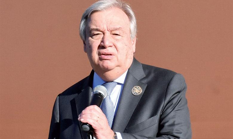 António Guterres, Secrétaire général des Nations unies. Ph. Saouri
