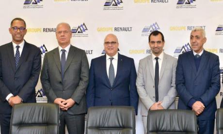 Partenariat entre le Groupe Renault Maroc  et l'École Mohammadia d'ingénieurs