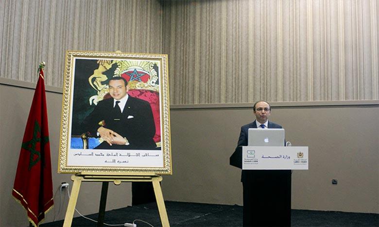Anass Doukkali,   ministre de la Santé. Ph : DR