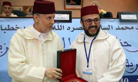 Remise à 23 prédicateurs  du Prix du Conseil supérieur des oulémas des prêches du vendredi