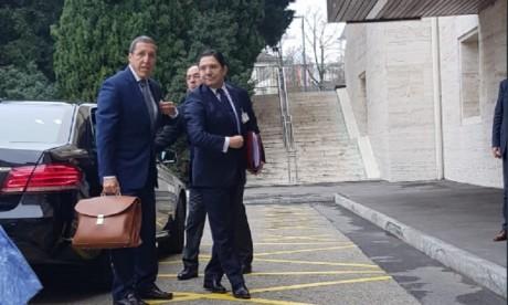 Genève: Début de la table ronde au sujet du différend régional sur le Sahara marocain