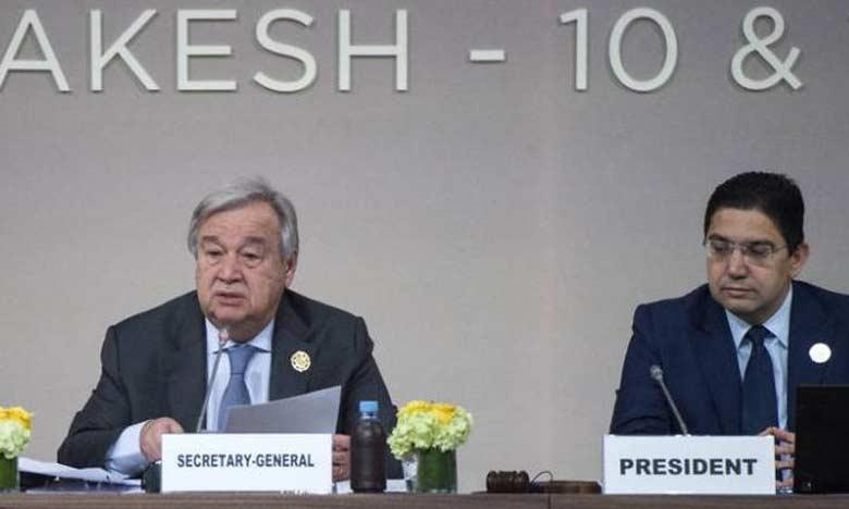 Le Secrétaire général de l'ONU appelle le monde à suivre la voie que montre le Pacte de Marrakech