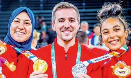Fatima Ezzahra Abou Fares, une championne en or