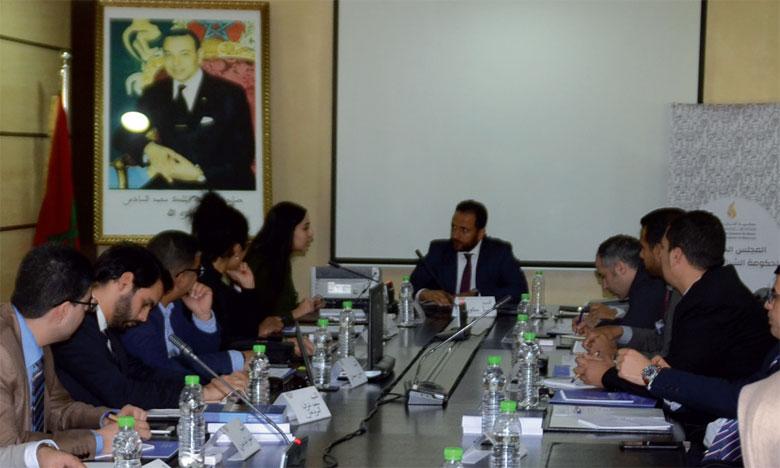 Le gouvernement jeunesse du Maroc tient son premier Conseil