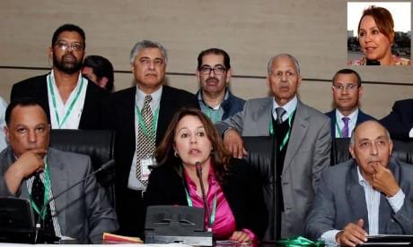 Bouchra Hajij honorée par le CIO