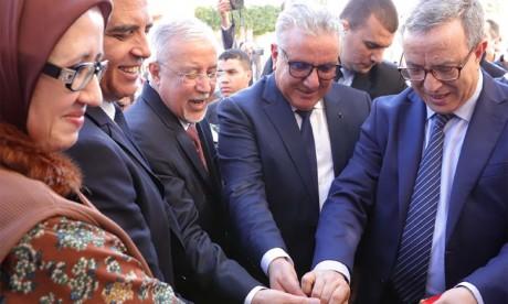 Le ministre de la Justice s'enquiert du travail  des tribunaux de la région