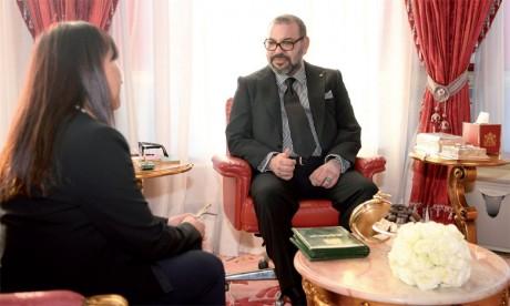 Amina Bouayach a été nommée par Sa Majesté le Roi Mohammed VIà la tête du Conseil national des droits de l'Homme (CNDH).                            Ph. MAP