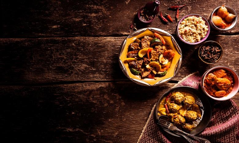 Le Matin La Cuisine Marocaine Dans La Cour Des Grandes