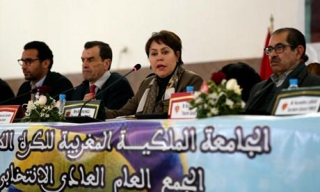Bouchra Hajij réélue présidente de la FRMVB