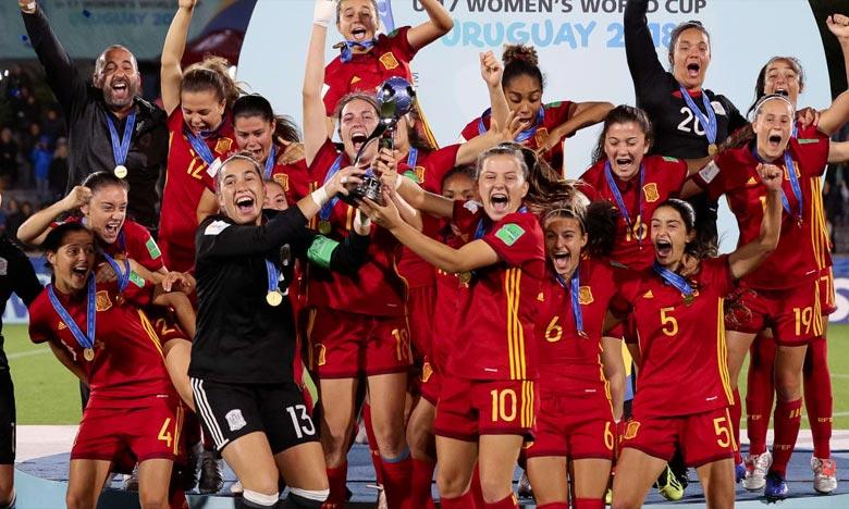 U17 : les Espagnoles championnes du monde