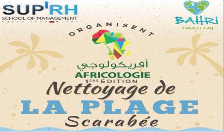 L'Association Bahri lance l'opération de nettoyage de la plage de Scarabée