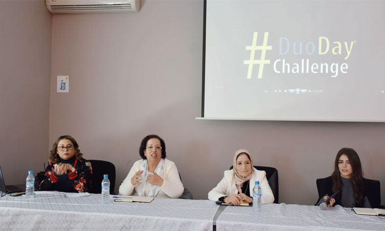Anais organise son 1er Duo Day Challenge