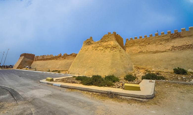 Haut lieu de mémoire, la citadelle d'Agadir Oufella est en dégradation constante et ses murailles tombent en ruine.
