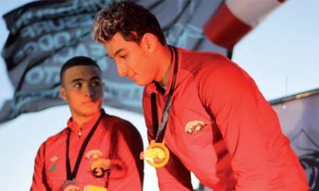 Deux Marocains sur le podium