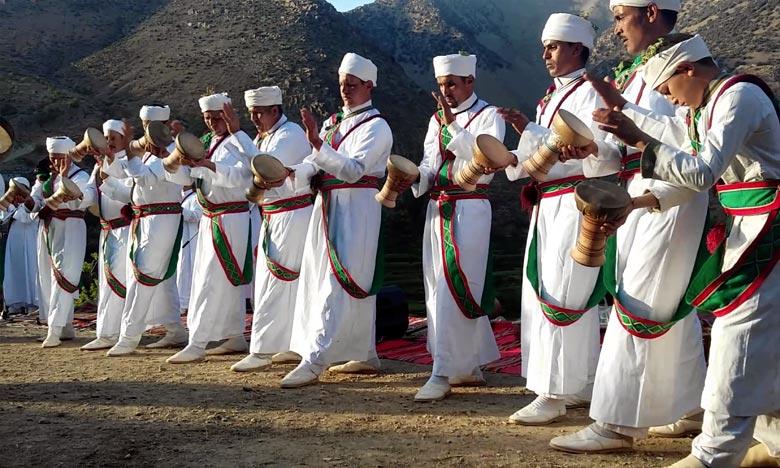 En 2017, La «Taskiwin», danse aux allures d'art martial caractéristique du Haut-Atlas occidental, a été inscrite sur la liste du patrimoine culturel immatériel de l'Unesco qui nécessite une sauvegarde urgente. Ph : DR