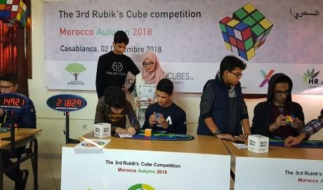 3e édition de la compétition Rubik's Cube : De nombreux records battus